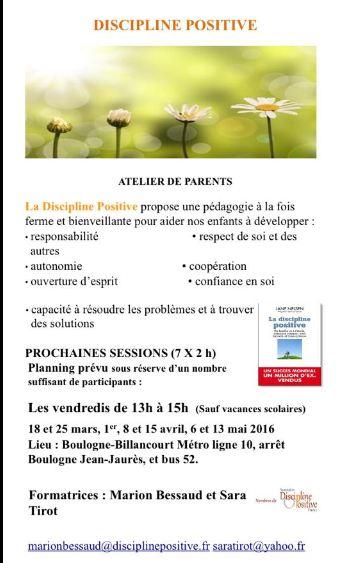 Capture discipline positive à Boulogne